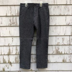 Men's Grey Slim Pants